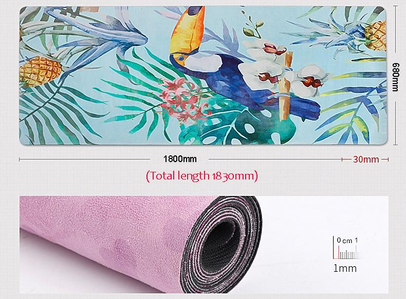The Mrs. Captain Planet Non-Toxic Recycled Totes Sustainable Environmentally-Friendly Minimalist Luxe Yoga Mat Pad - HABIT