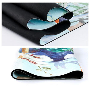 The Mrs. Captain Planet MACHINE-WASHABLE (!) Non-Toxic Recycled Totes Sustainable Environmentally-Friendly Minimalist Luxe Yoga Mat Pad Yoga Mats zhongzuishang Official Store
