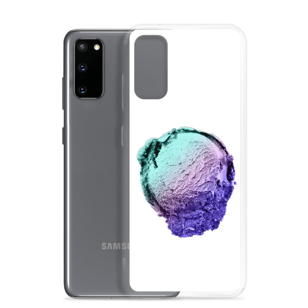 Samsung Case - Ice Cream Ball FIGHT - Spearmint Lavender Smear HABIT