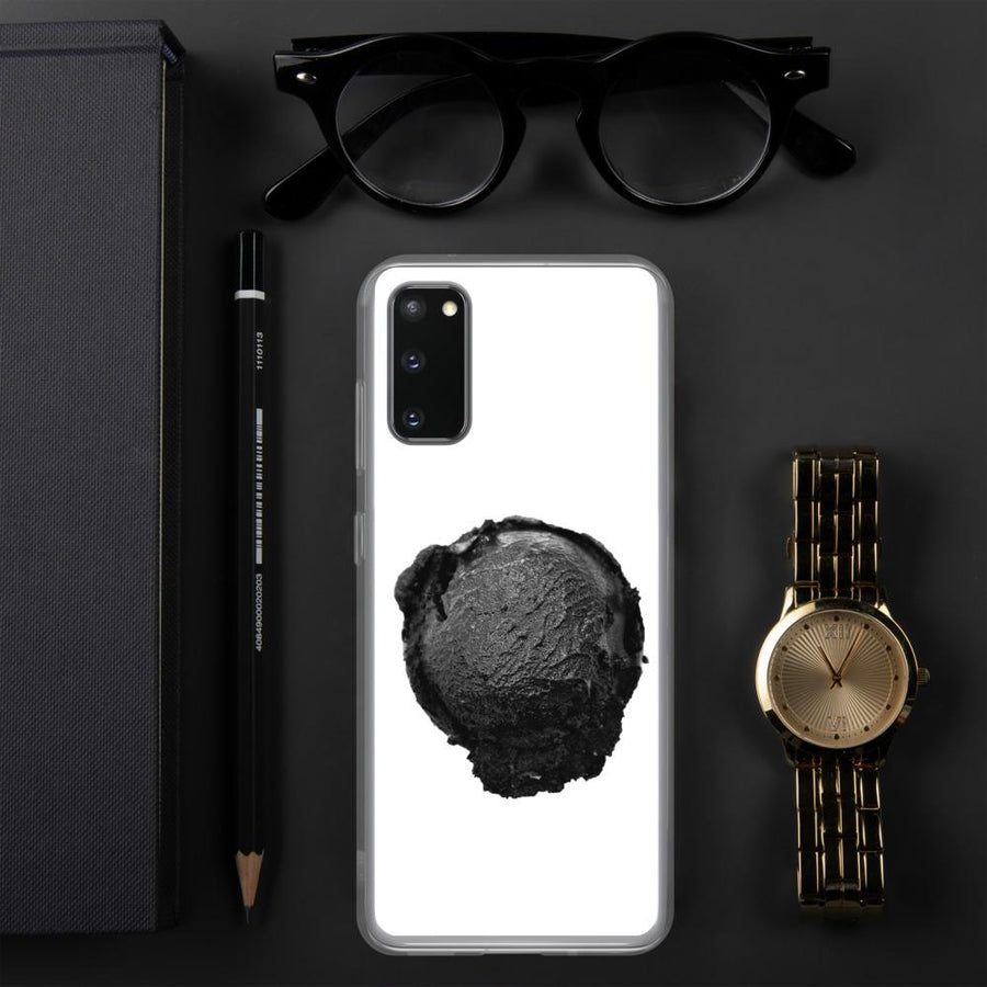 Samsung Case - Ice Cream Ball FIGHT - Coconut Charcoal HABIT