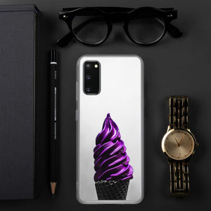 Samsung Case - Ice Cream Swirl - Doesn't-Look-Real Purple Ube HABIT