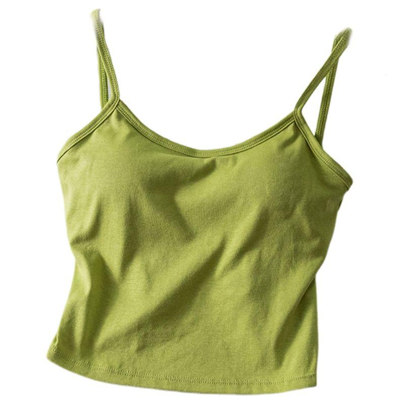 The Irresistible Twisty Knot Backless Padded Camisole Top Camis Wonder Bag Store Smashed Avo Green