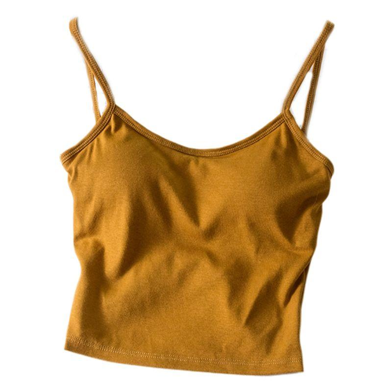 The Irresistible Twisty Knot Backless Padded Camisole Top Camis Wonder Bag Store Cinnamon Warming Ginger