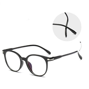 The Easy Breezy Unisex Old-School Crime Novel Vintage Eyeglasses Frames Men's Eyewear Frames Topglasses Store