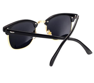 The Classic High Brow Retro Polarized Unisex Girls Sunglasses Men's Sunglasses yooske Official Store