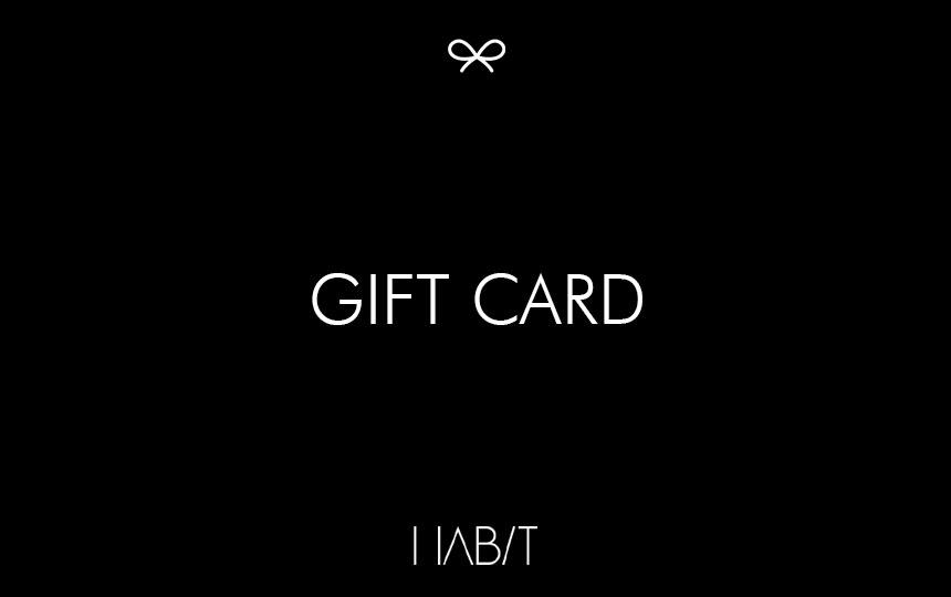 Share the Love Gift Card Gift Card HABIT