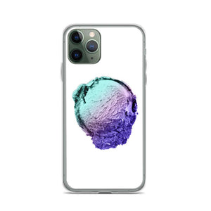 iPhone Case - Ice Cream Ball FIGHT - Spearmint Lavender Smear HABIT iPhone 11 Pro