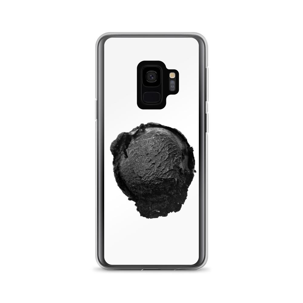 Samsung Case - Ice Cream Ball FIGHT - Coconut Charcoal HABIT Samsung Galaxy S9