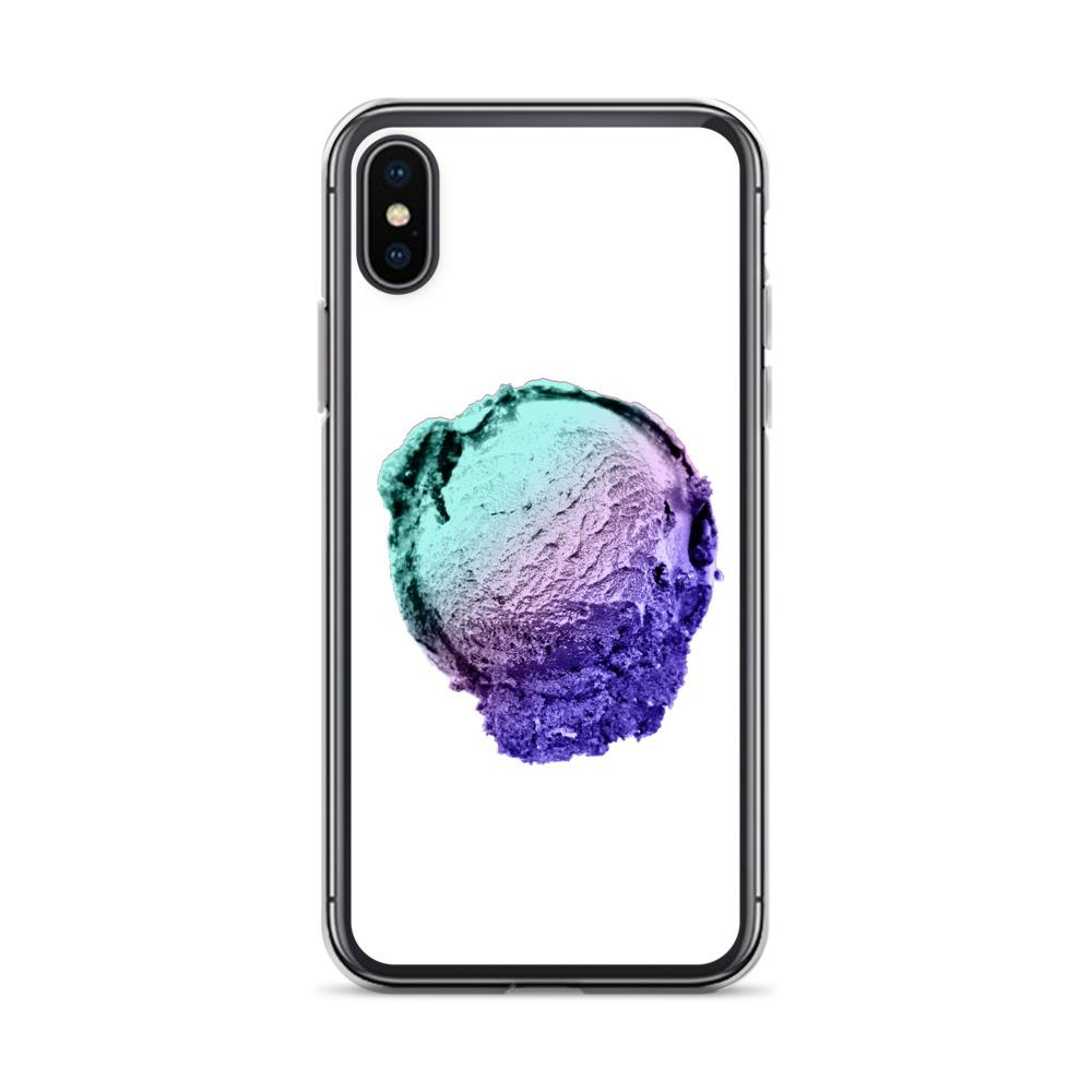 iPhone Case - Ice Cream Ball FIGHT - Spearmint Lavender Smear HABIT iPhone X/XS