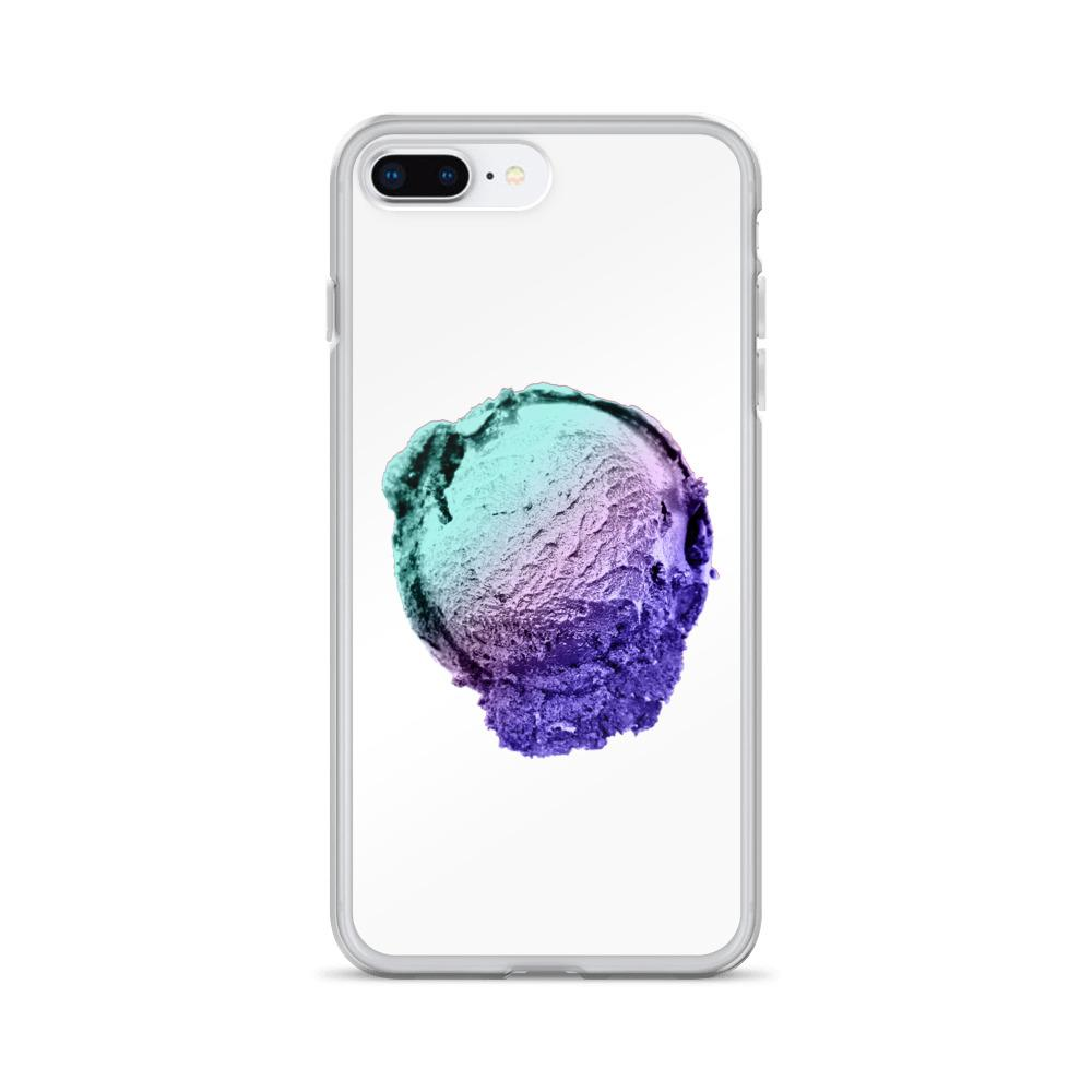 iPhone Case - Ice Cream Ball FIGHT - Spearmint Lavender Smear HABIT iPhone 7 Plus/8 Plus