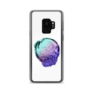 Samsung Case - Ice Cream Ball FIGHT - Spearmint Lavender Smear HABIT Samsung Galaxy S9