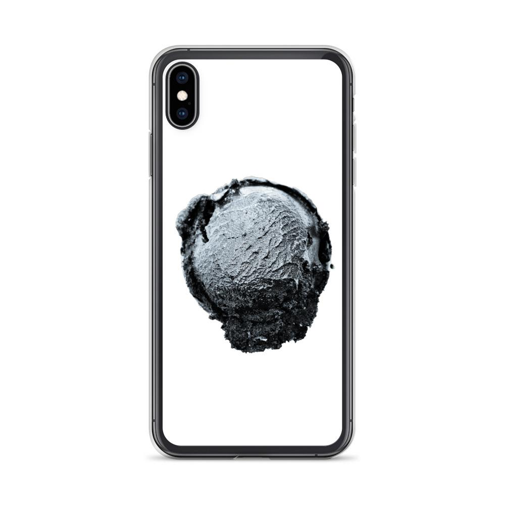 iPhone Case - Ice Cream Ball FIGHT - Silver Snowflake HABIT iPhone XS Max