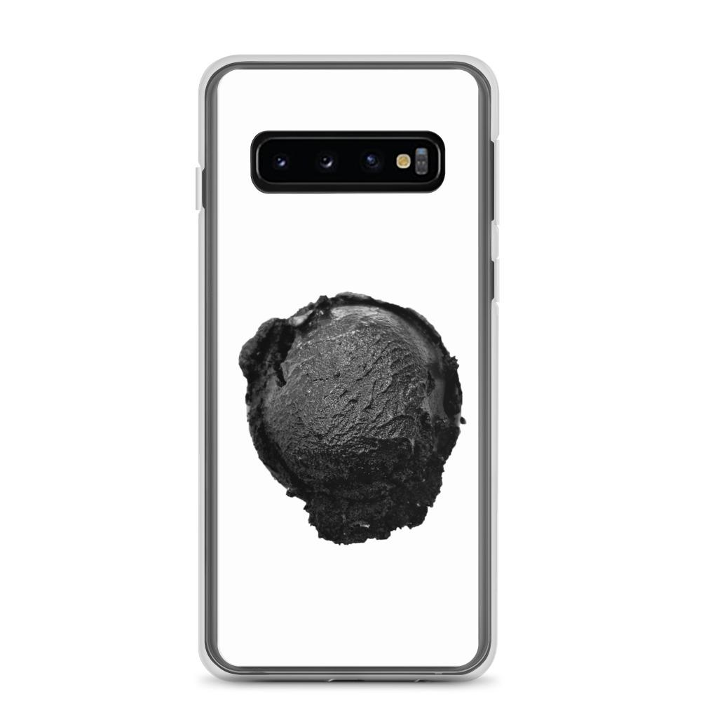 Samsung Case - Ice Cream Ball FIGHT - Coconut Charcoal HABIT Samsung Galaxy S10