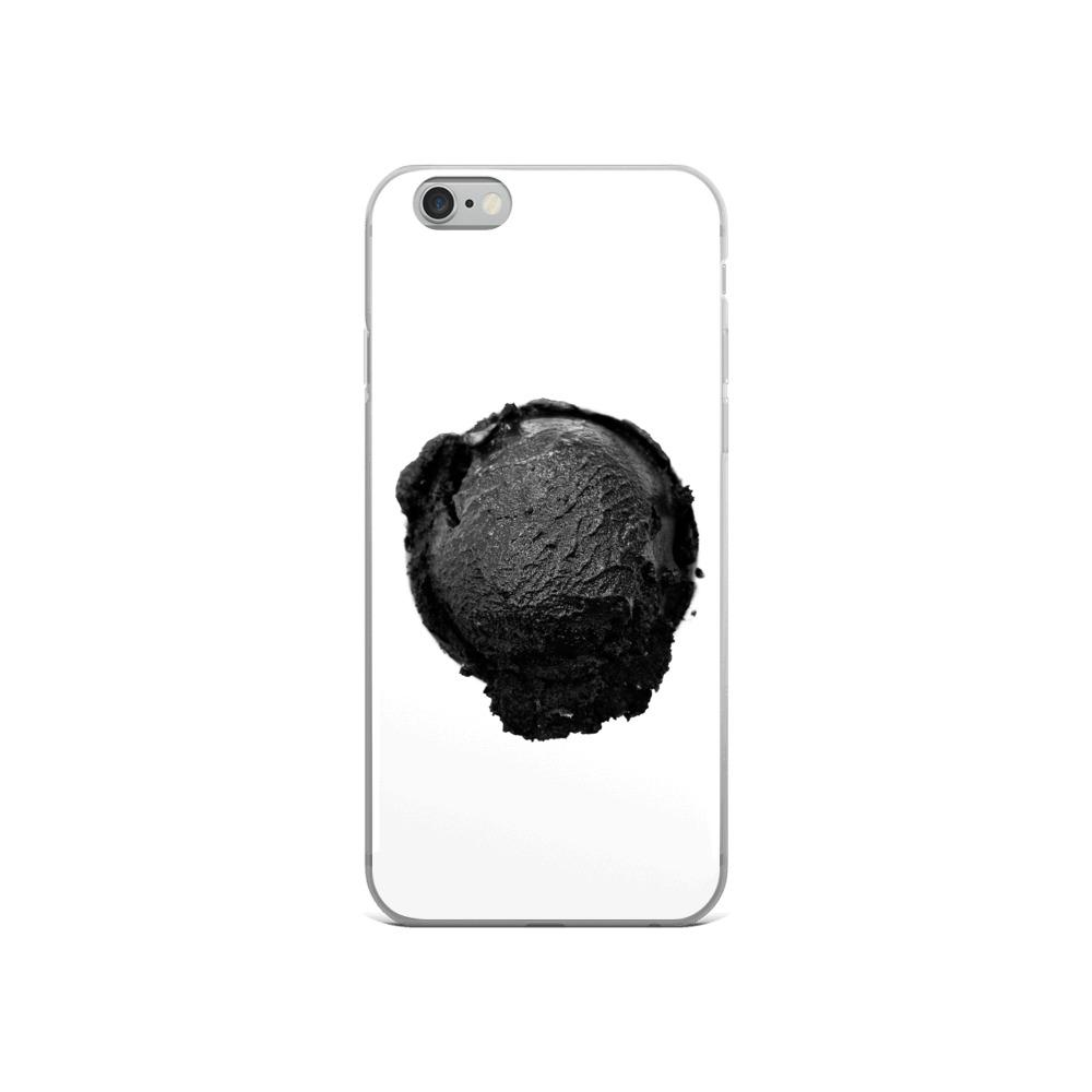 iPhone Case - Coconut Charcoal Ice Cream FIGHT HABIT iPhone 6/6s