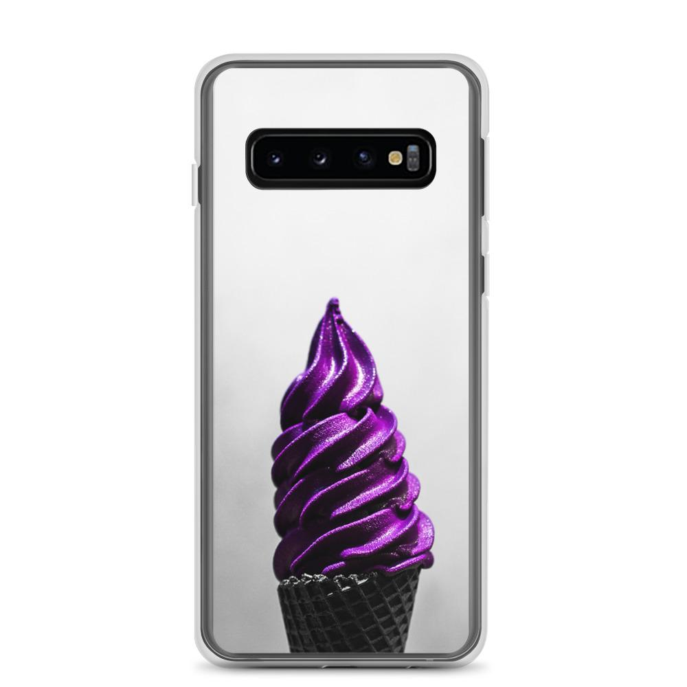 Samsung Case - Doesn't-Look-Real Purple Ube Ice Cream HABIT Samsung Galaxy S10
