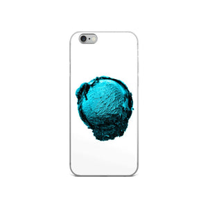 iPhone Case - Ice Cream Ball FIGHT - Blue Mint Winter Wonderland HABIT iPhone 6/6s