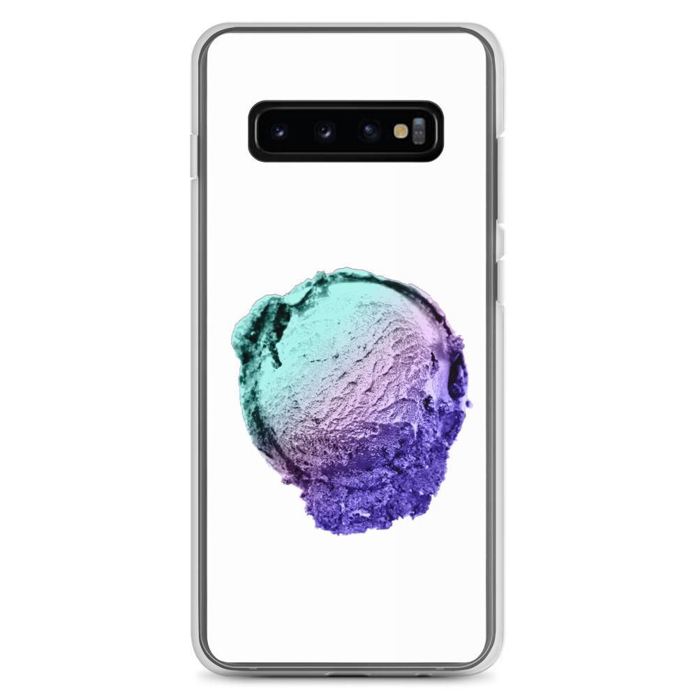 Samsung Case - Ice Cream Ball FIGHT - Spearmint Lavender Smear HABIT Samsung Galaxy S10+