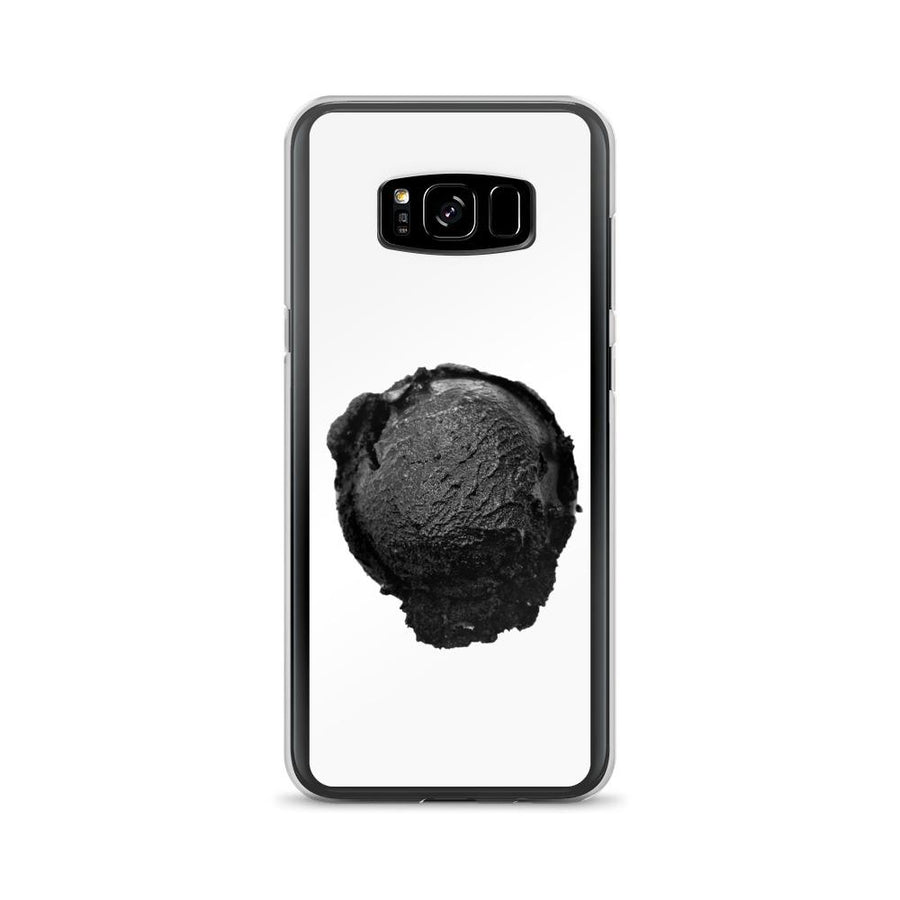 Samsung Case - Ice Cream Ball FIGHT - Coconut Charcoal HABIT Samsung Galaxy S8+