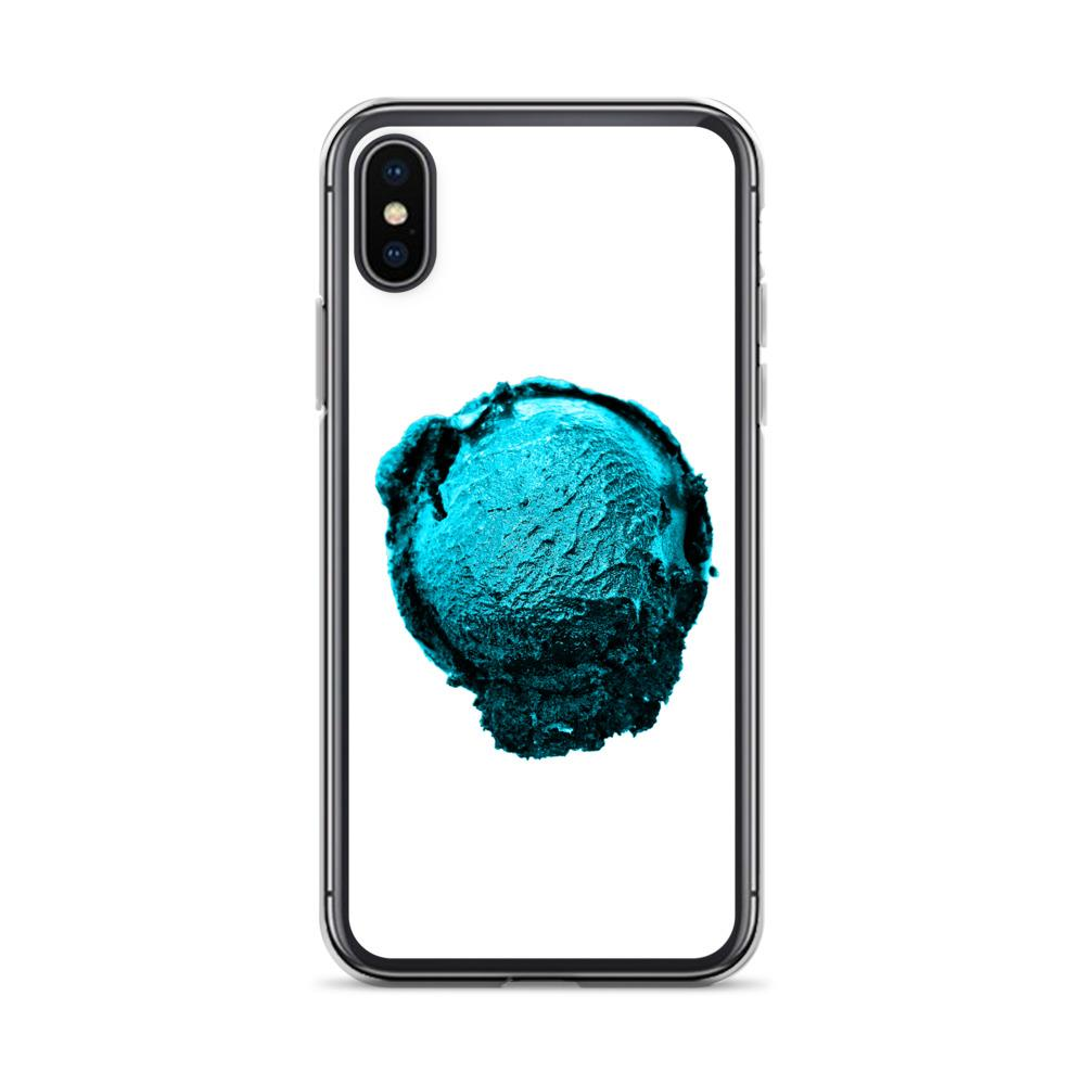 iPhone Case - Ice Cream Ball FIGHT - Blue Mint Winter Wonderland HABIT iPhone X/XS