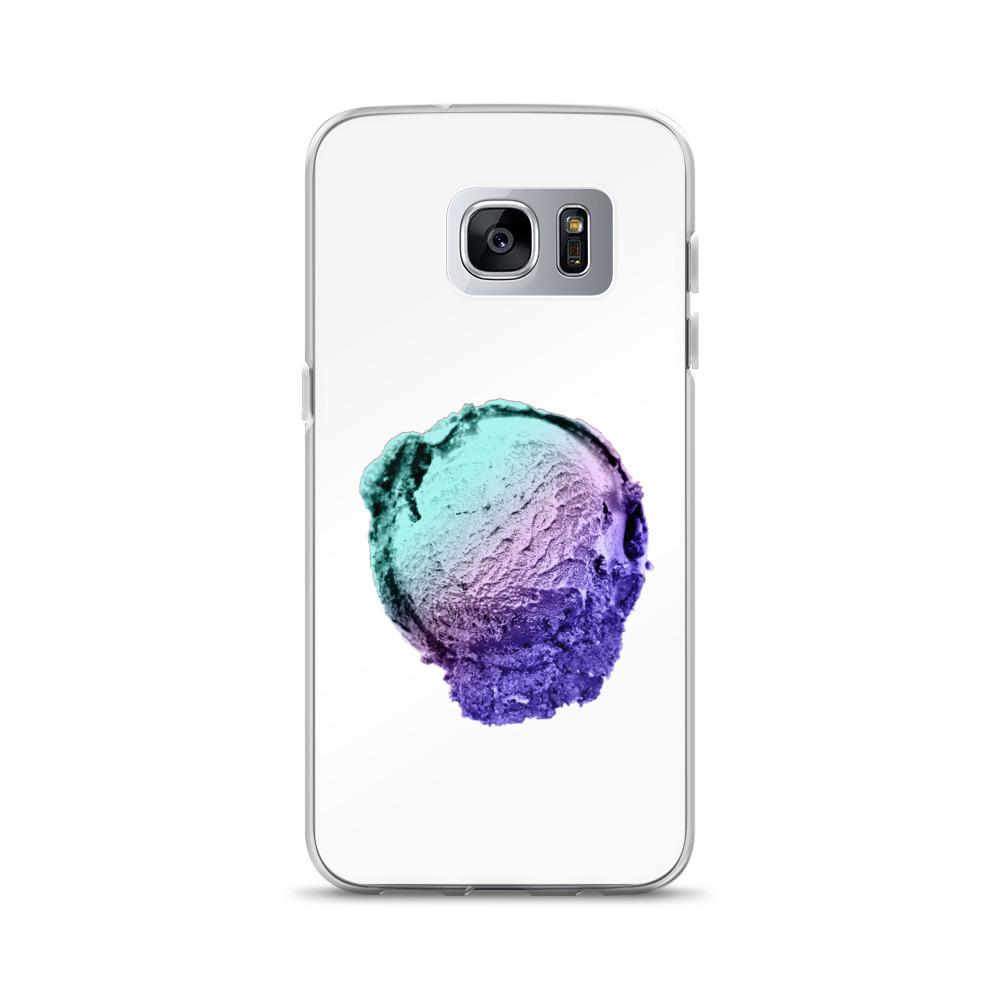 Samsung Case - Ice Cream Ball FIGHT - Spearmint Lavender Smear HABIT Samsung Galaxy S7 Edge