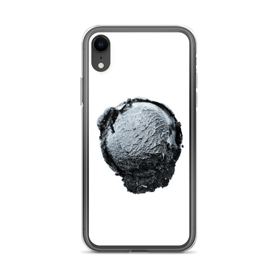 iPhone Case - Ice Cream Ball FIGHT - Silver Snowflake HABIT iPhone XR