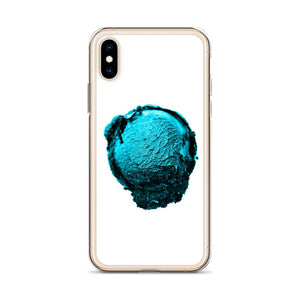 iPhone Case - Ice Cream Ball FIGHT - Blue Mint Winter Wonderland HABIT