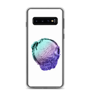 Samsung Case - Ice Cream Ball FIGHT - Spearmint Lavender Smear HABIT Samsung Galaxy S10