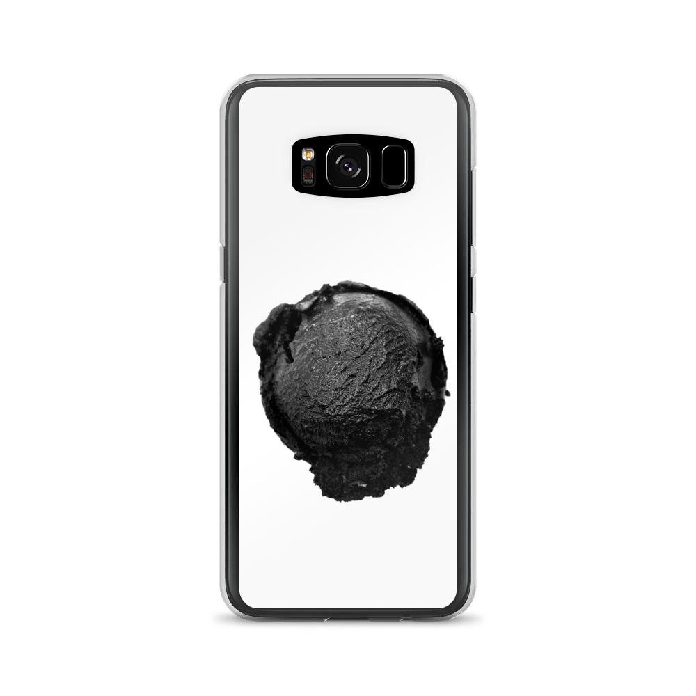 Samsung Case - Ice Cream Ball FIGHT - Coconut Charcoal HABIT Samsung Galaxy S8