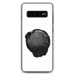 Samsung Case - Ice Cream Ball FIGHT - Coconut Charcoal HABIT Samsung Galaxy S10+