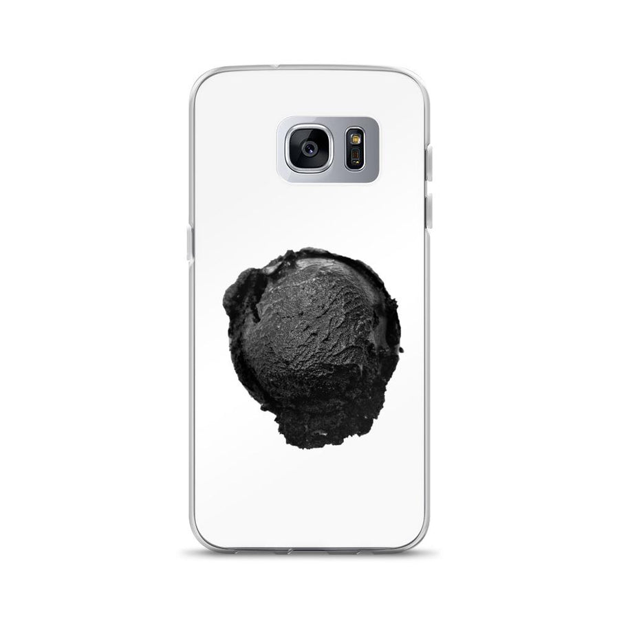 Samsung Case - Ice Cream Ball FIGHT - Coconut Charcoal HABIT Samsung Galaxy S7 Edge