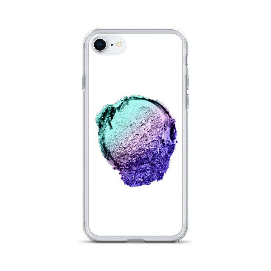 iPhone Case - Ice Cream Ball FIGHT - Spearmint Lavender Smear HABIT iPhone 7/8
