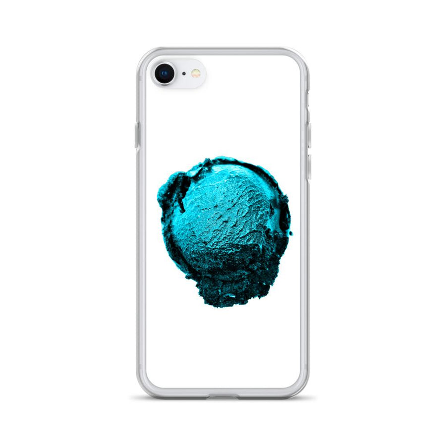 iPhone Case - Ice Cream Ball FIGHT - Blue Mint Winter Wonderland HABIT iPhone 7/8