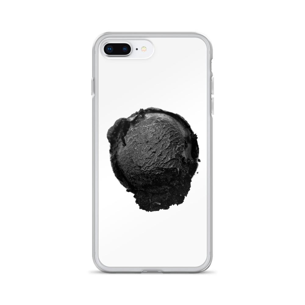 iPhone Case - Coconut Charcoal Ice Cream FIGHT HABIT iPhone 7 Plus/8 Plus