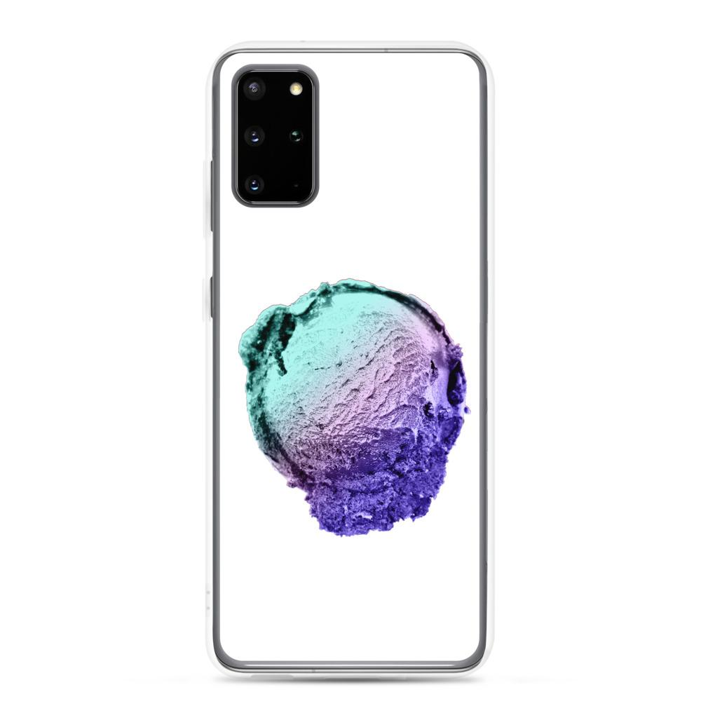 Samsung Case - Ice Cream Ball FIGHT - Spearmint Lavender Smear HABIT Samsung Galaxy S20 Plus