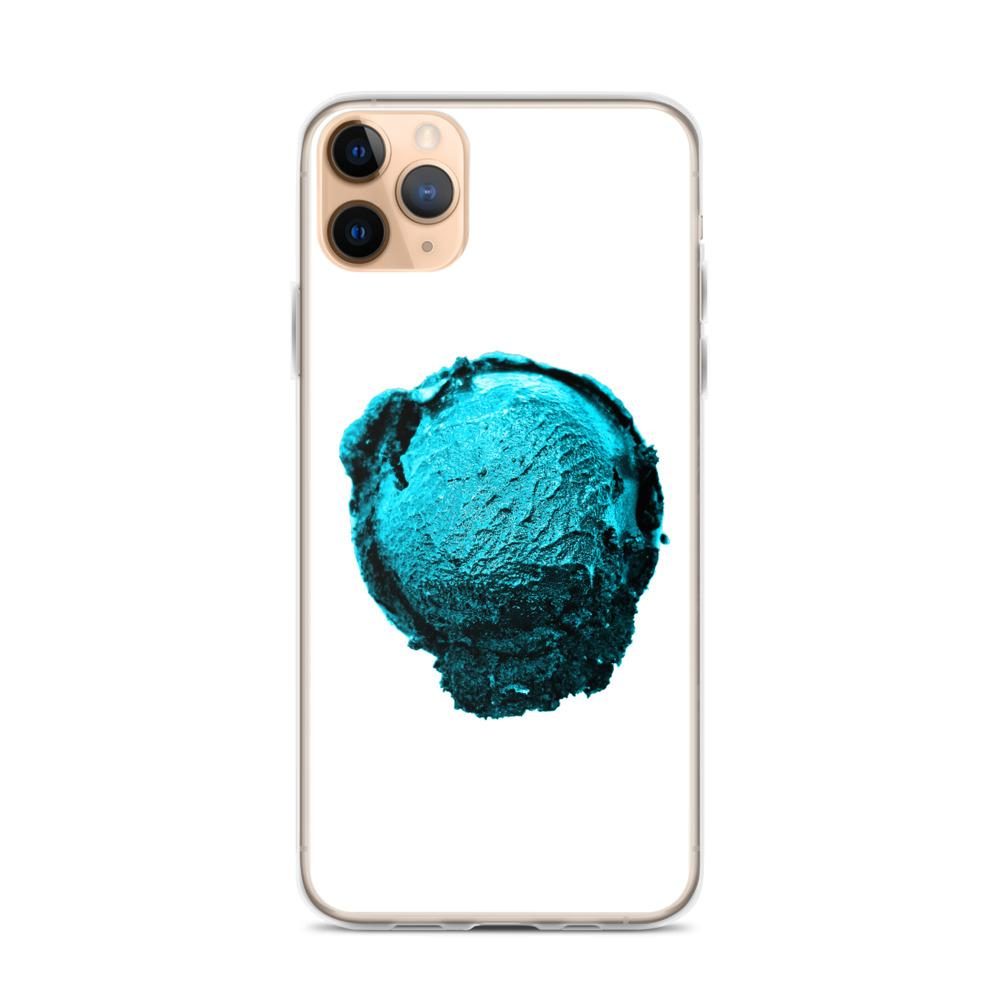 iPhone Case - Ice Cream Ball FIGHT - Blue Mint Winter Wonderland HABIT iPhone 11 Pro Max