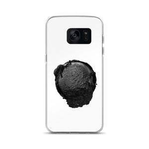 Samsung Case - Ice Cream Ball FIGHT - Coconut Charcoal HABIT Samsung Galaxy S7