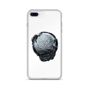iPhone Case - Ice Cream Ball FIGHT - Silver Snowflake HABIT iPhone 7 Plus/8 Plus