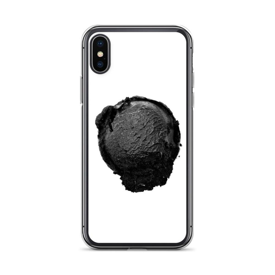 iPhone Case - Coconut Charcoal Ice Cream FIGHT HABIT iPhone X/XS