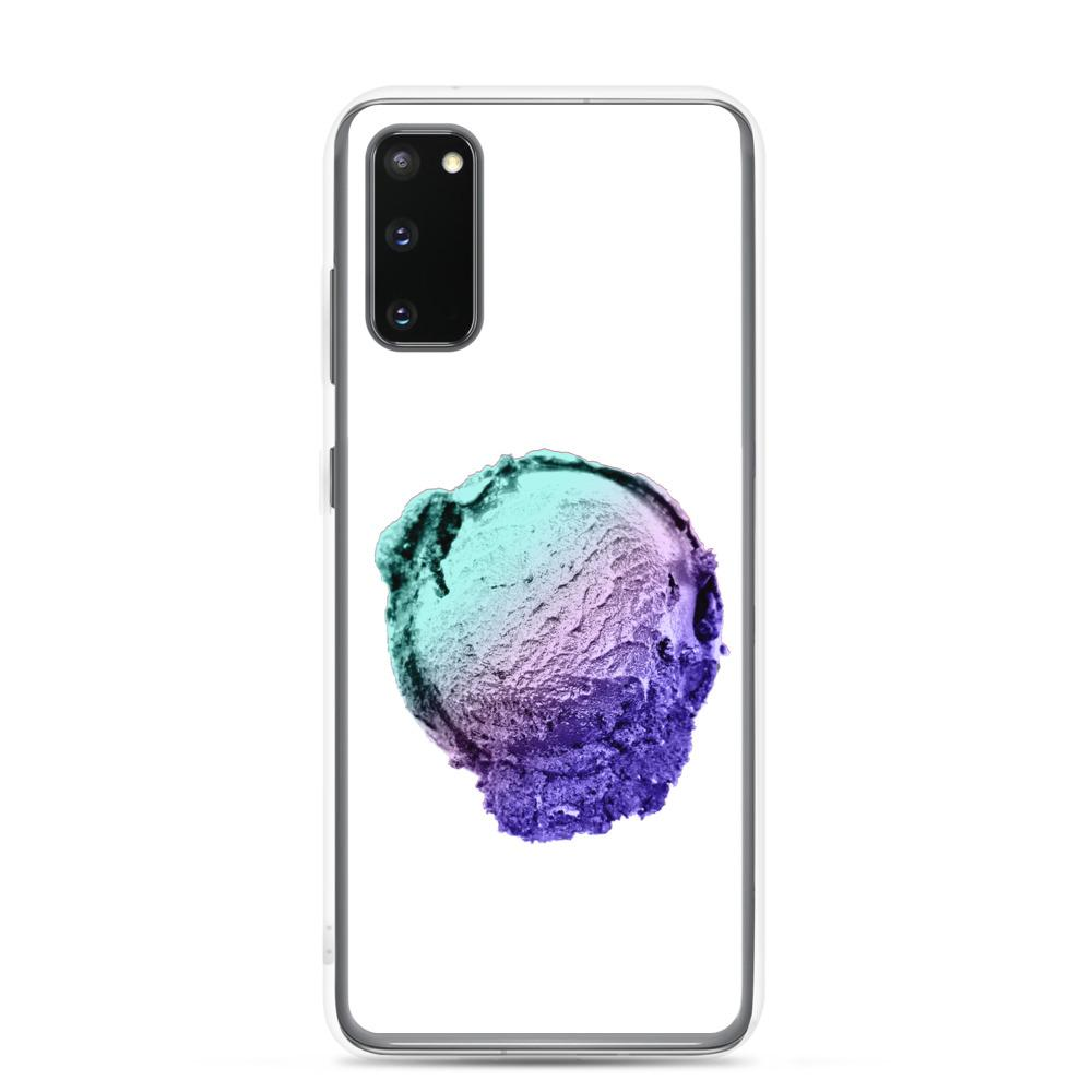 Samsung Case - Ice Cream Ball FIGHT - Spearmint Lavender Smear HABIT Samsung Galaxy S20
