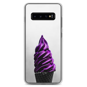 Samsung Case - Doesn't-Look-Real Purple Ube Ice Cream HABIT Samsung Galaxy S10+