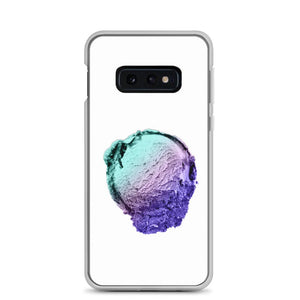 Samsung Case - Ice Cream Ball FIGHT - Spearmint Lavender Smear HABIT Samsung Galaxy S10e