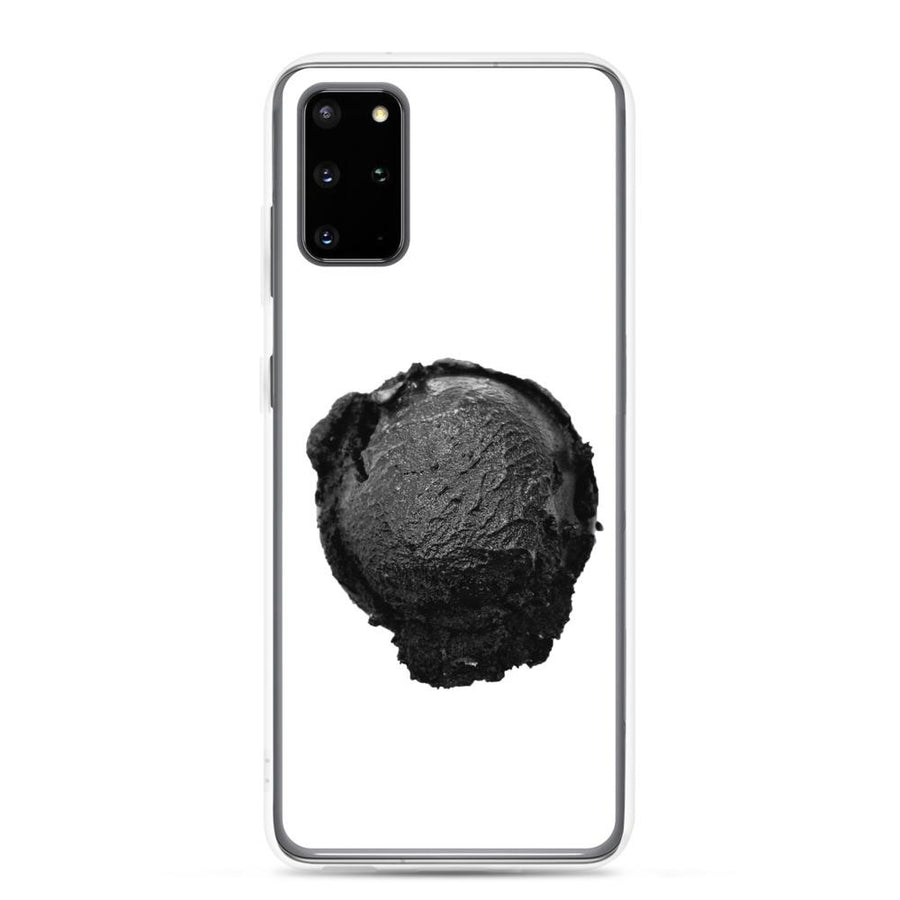 Samsung Case - Ice Cream Ball FIGHT - Coconut Charcoal HABIT Samsung Galaxy S20 Plus