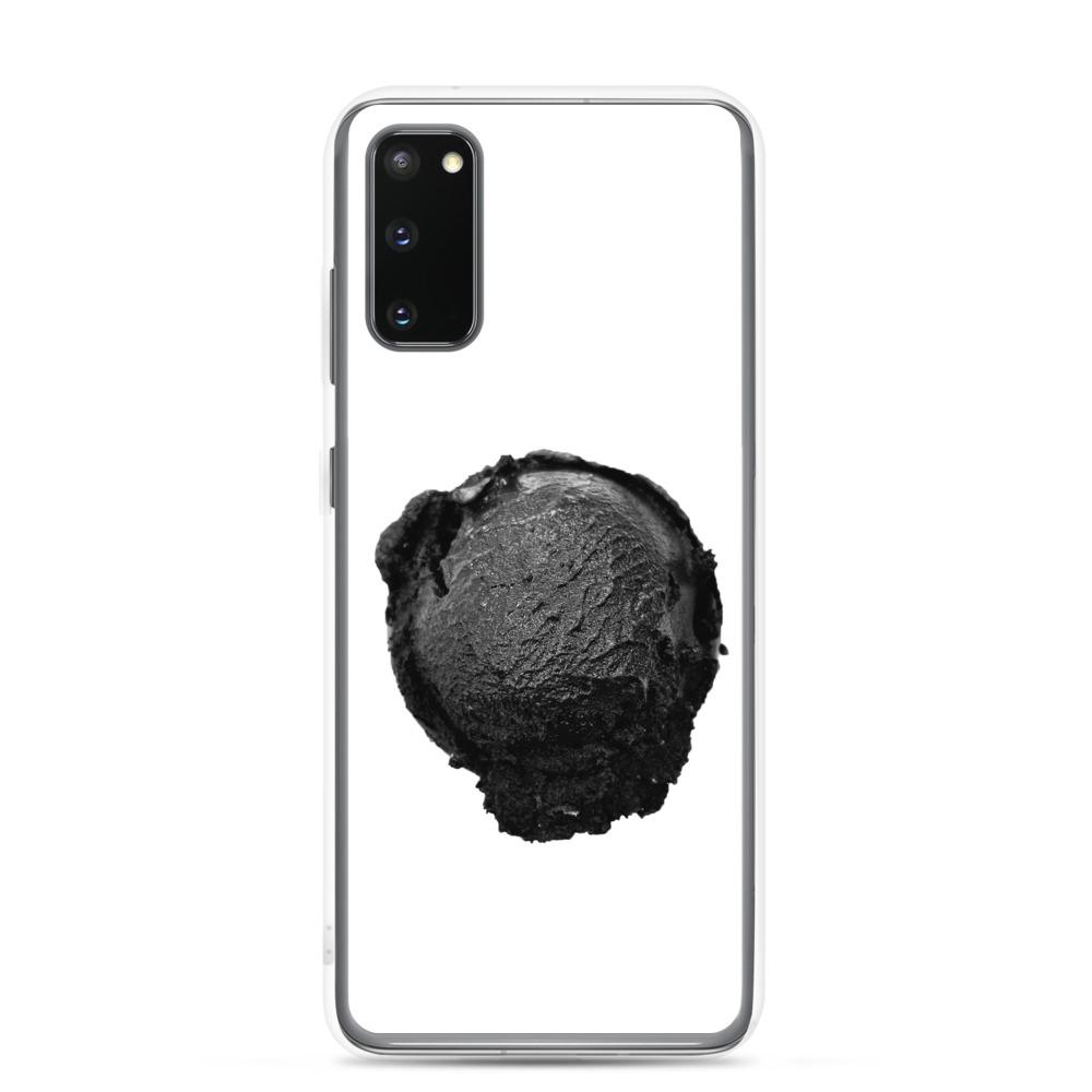 Samsung Case - Ice Cream Ball FIGHT - Coconut Charcoal HABIT Samsung Galaxy S20