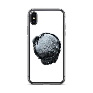 iPhone Case - Ice Cream Ball FIGHT - Silver Snowflake HABIT iPhone X/XS