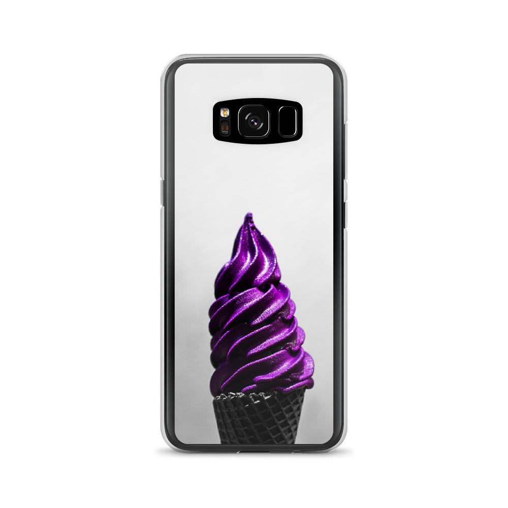 Samsung Case - Doesn't-Look-Real Purple Ube Ice Cream HABIT Samsung Galaxy S8