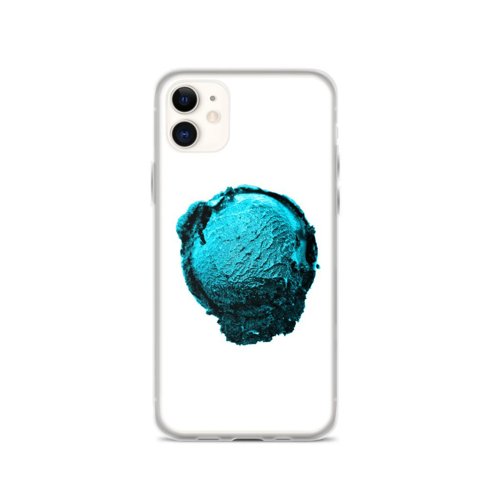 iPhone Case - Ice Cream Ball FIGHT - Blue Mint Winter Wonderland HABIT iPhone 11