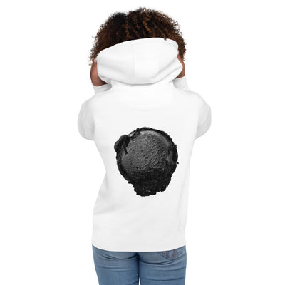Unisex Hoodie - Ice Cream Ball FIGHT - Coconut Charcoal