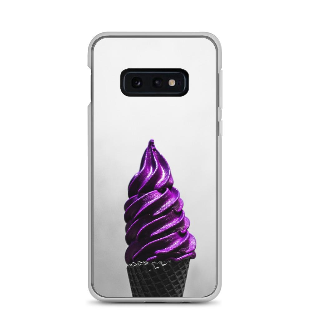 Samsung Case - Doesn't-Look-Real Purple Ube Ice Cream HABIT Samsung Galaxy S10e