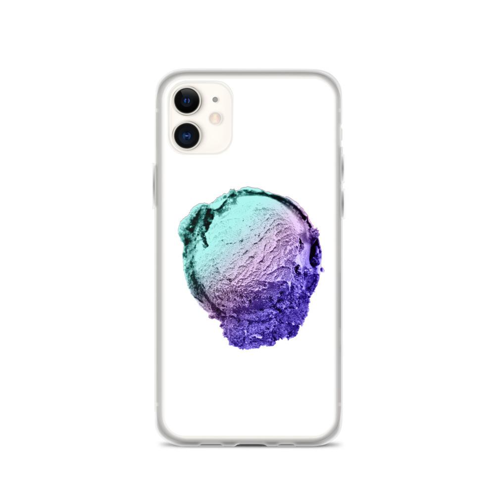 iPhone Case - Ice Cream Ball FIGHT - Spearmint Lavender Smear HABIT iPhone 11