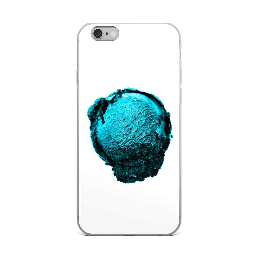 iPhone Case - Ice Cream Ball FIGHT - Blue Mint Winter Wonderland HABIT iPhone 6 Plus/6s Plus